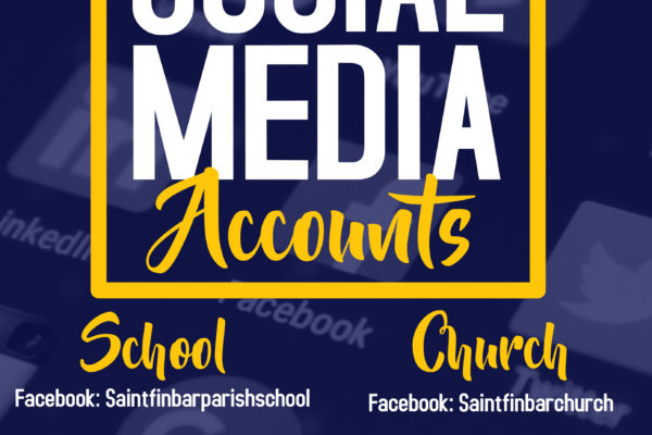 Join and like our social media accounts to receive St. Finbar Church's updates!